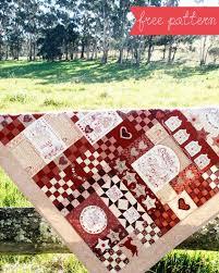 red-brolly.com Christmas Wish Quilt free pattern | Embroidery ... & red-brolly.com Christmas Wish Quilt free pattern Adamdwight.com