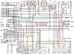 virago signal wiring diagram wiring diagrams and schematics yamaha virago xv535 1100 1981 1994 service manual