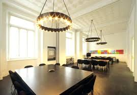 square wood chandelier using modern round black over dining table including white tin drop ceiling and