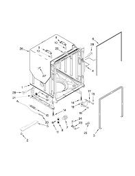 Kenmore elite model 66512783k310 dishwasher genuine parts