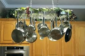 pan ceiling rack pot and pan hanger unique pot pan rack ceiling on hunter ceiling fans pan ceiling rack