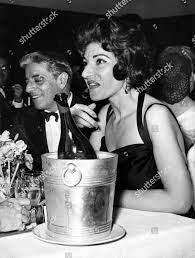 Aristotle Onassis Maria Callas Redaktionelles Stockfoto – Stockbild