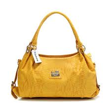 Coach In Embossed Medium Yellow Satchels DFQ.  358.00  71.99. Save  80%  off. Coach Bleecker Bistro Large Brown ...