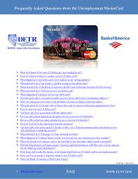 Use your card everywhere mastercard debit cards are accepted. Https Cms Detr Nv Gov Content Media Faq About Bofa Mastercard Pdf
