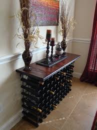 Some Type Of Wine Rack I Can T Believe We Don Have One Since Console