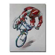 Resultado de imagem para bike pintada parede