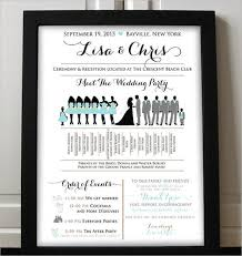 program template for wedding wedding program template 64 free word pdf psd documents