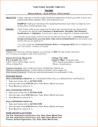 11 Functional Resume Template Free Download Skills Based Resume