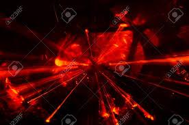 Red Light Burst Abstract Red Light Burst Zoom
