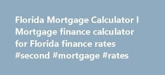 Home Mortgage Finance Calculator Florida Mortgage Calculator L Mortgage Finance Calculator For