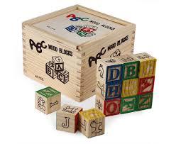 48 piece wooden blocks