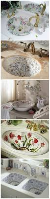 Painting A Porcelain Sink Best 25 Painting Bathroom Sinks Ideas On Pinterest Diy Bathroom