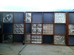 sheet metal fence panel brilliant ideas panels terrific about corrugated cost