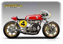 honda cb 750 fab four cafe racer by obiboi on deviantart