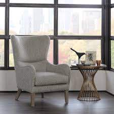 wingback chair. Amazon.com: Madison Park FPF18-0429 Arianna Swoop Wing Chair: Kitchen \u0026 Dining Wingback Chair