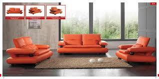 Orange Living Room Furniture Coolest Orange Living Room Furniture On Small House Decoration
