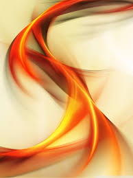 Abstract Colour Background Orange Ultra ...