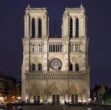 la sorbonne faaade catac nord de la. Notre Dame Paris West Facade Illuminated At Night La Sorbonne Faaade Catac Nord De O