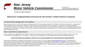 car lien release new jerseyDealertrack New Jersey Online Registration System NJOLRS