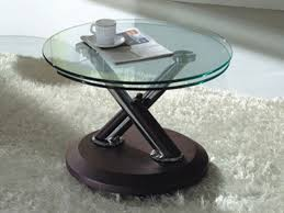 glass top small coffee tables for small spaces modern white fur carpet modern space idea amazing