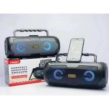 Loa Karaoke Bluetooth Xách Tay KIMISO KM-S6 (Đen) Mic Hát Có Dây Cắm Trực  Tiếp, Bass Không Dây, Đèn Led Sống Động-4083- Hàng Nhập Khẩu( màu ngẫu  nhiên) - Loa Bluetooth Hãng