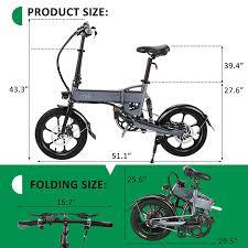 <b>FIIDO D2 16 inch</b> Folding Electric Bike w- Buy Online in Bahamas at ...