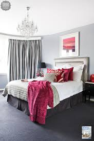 Rich Burgundy Touches Add Glamour To This Sydney Bedroom Decor - Sydney bedroom furniture