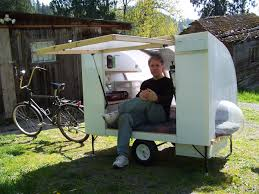 Bike Camper Trailer Bugout Bicycle Camper Youtube