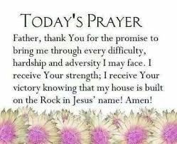 Todays Prayer Quotes