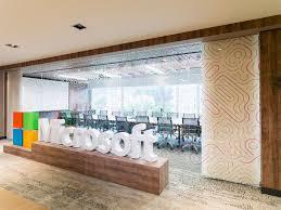 Microsoft Office Meeting A Tour Of Microsofts Modern Bogota Office Officelovin
