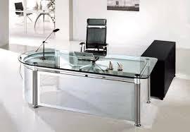 Office Glass Table Impressive Garden Design In Office Glass Table Glass Desk Office