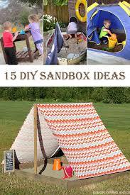 15 gorgeous diy sandbox ideas