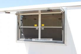 6 x 12 concession trailer w 2 serving windows glass screens dallas texas