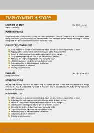 Resume About Me Examples Cool Gallery Of Examples Of Resumes The Most Important Thing On Your