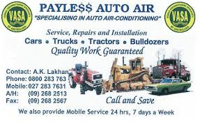 mobile automotive air conditioning