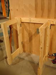 how to make a fold down workbench how