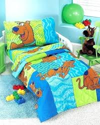 scooby doo bed set bedroom bedding white toddler