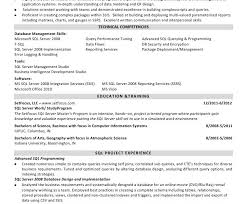 Download Sql Developer Resume