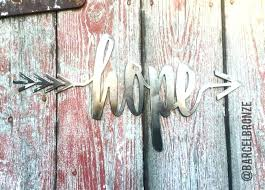 metal arrow wall art hope sign hope wall decor metal sign custom metal arrow wall decor gallery wall accents new home gift personalized sign hope wall art  on custom metal wall art canada with metal arrow wall art hope sign hope wall decor metal sign custom