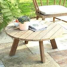 good round patio coffee table for elegant outdoor side best ideas about folding canada coffe