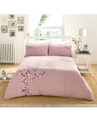 natori cherry blossom duvet cover embroidered crazy clearance