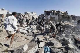 نتیجه تصویری برای حمله عربستان به  یمن