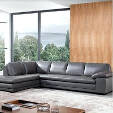 dark gray leather sectional wayfair gray leather sectional gray leather reclining sectional sofa