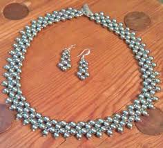 Bead Weaving Patterns Stunning Free Right Angle Weave Seed Bead Patterns Pearl Necklace And