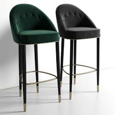 upholstered bar stools. 15 SOPHISTICATED HOME DECOR IDEAS BY ERIC KUSTER TO COPY THIS FALL | Bar Chair Designs Restaurant Interior Home Decor #interiordesign Upholstered Stools R