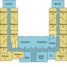 Floor Plans At The Willows Assisted Living  The WillowsAssisted Living Floor Plan