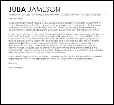 faculty application cover letter sample academic cover letter cover letter for faculty application with