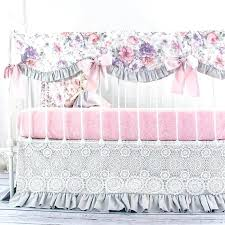 image 0 baby girl crib bedding fl set vintage baby bedding set cute swan girl crib