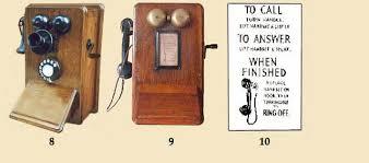 the british ericsson wall phone