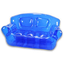 ocean blue inflatable bubble couch  bubble inflatables products